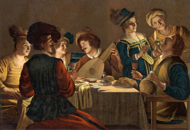 DINNER WITH MUSICIAN OF LUTE